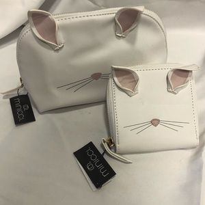 Handbags - Kitty Purse/Wallet Set